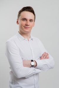 Student Medycyny Viktor Gałęcki